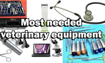 Most Needed Veterinary Equipment