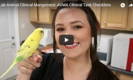 Lab Animal Clinical Management: AVMA Clinical Task Checklists- Video by Victoria Birch