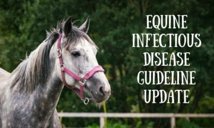 Equine infectious disease guideline update