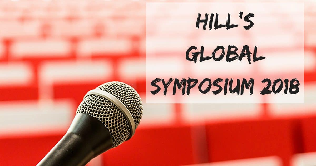 Hill's Global Symposium 2018