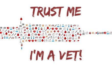 """Trust me, I'm a Vet"""