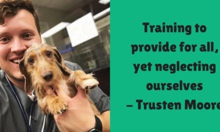 Training to provide for all, yet neglecting ourselves