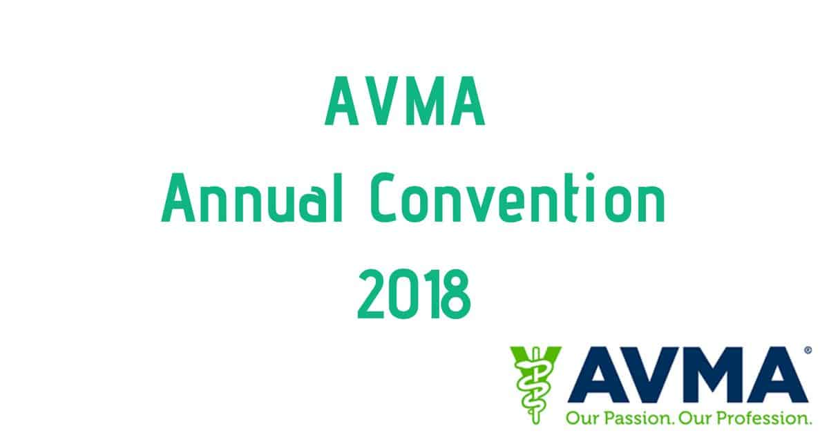 AVMA Annual Convention 2018