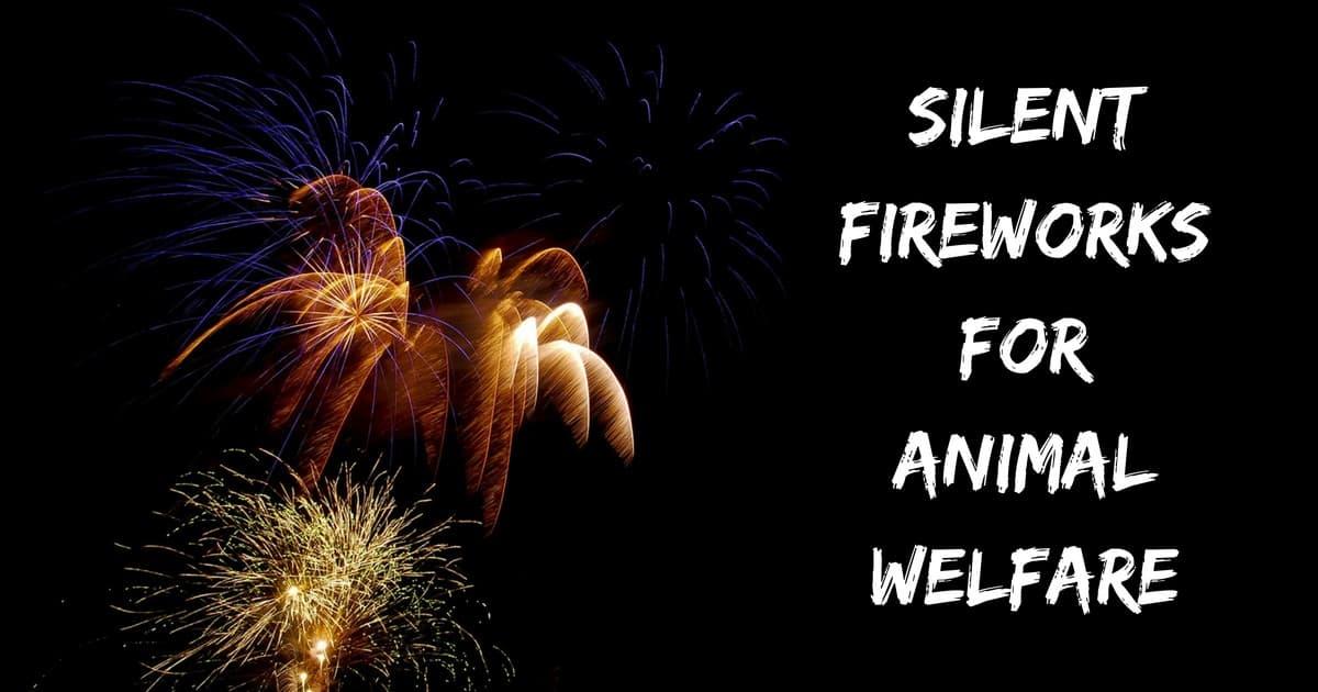 Silent Fireworks for Animal Welfare