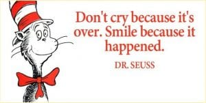 Dr. Seuss, grief, loss, end