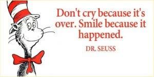 Dr. Seuss, grief, loss, end