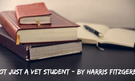 Not Just a Vet Student – by Harris Fitzgerel