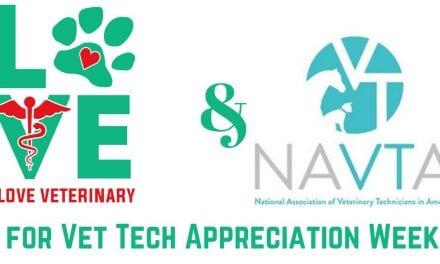 I Love Veterinary & NAVTA for Vet Tech Appreciation Week