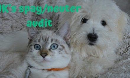 UK's spay/neuter audit