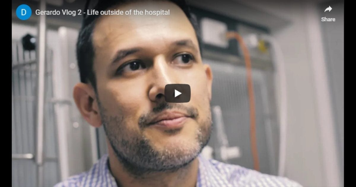 Life outside of the hospital – Video by Dr. Gerardo Poli