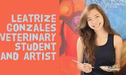 Leatrize Gonzales – Veterinary Student and Artist