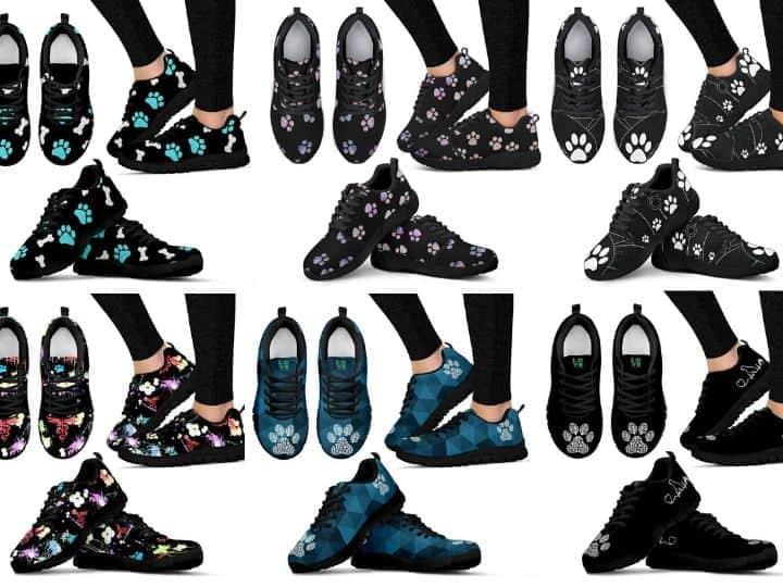 sneakers i love veterinary