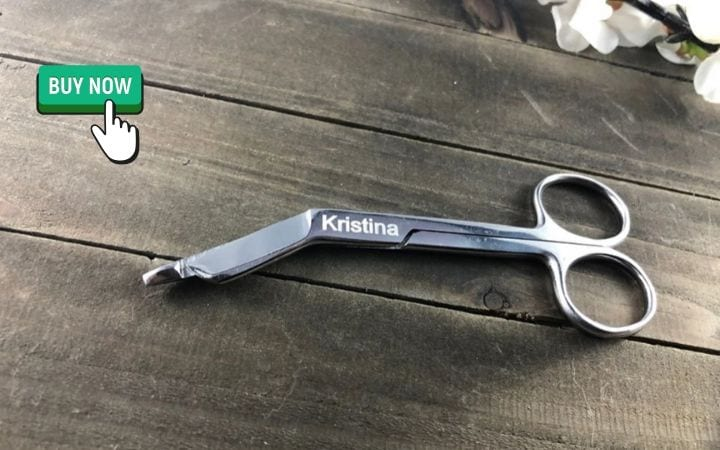 bandage scissors engraved, gifts for veterinary student graduation I love Veterinary
