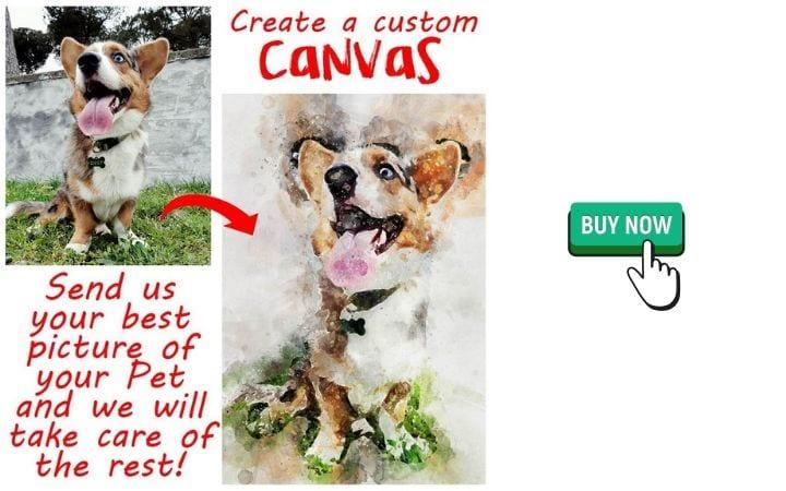 Custom canvas, wall art by I Love Veterinary
