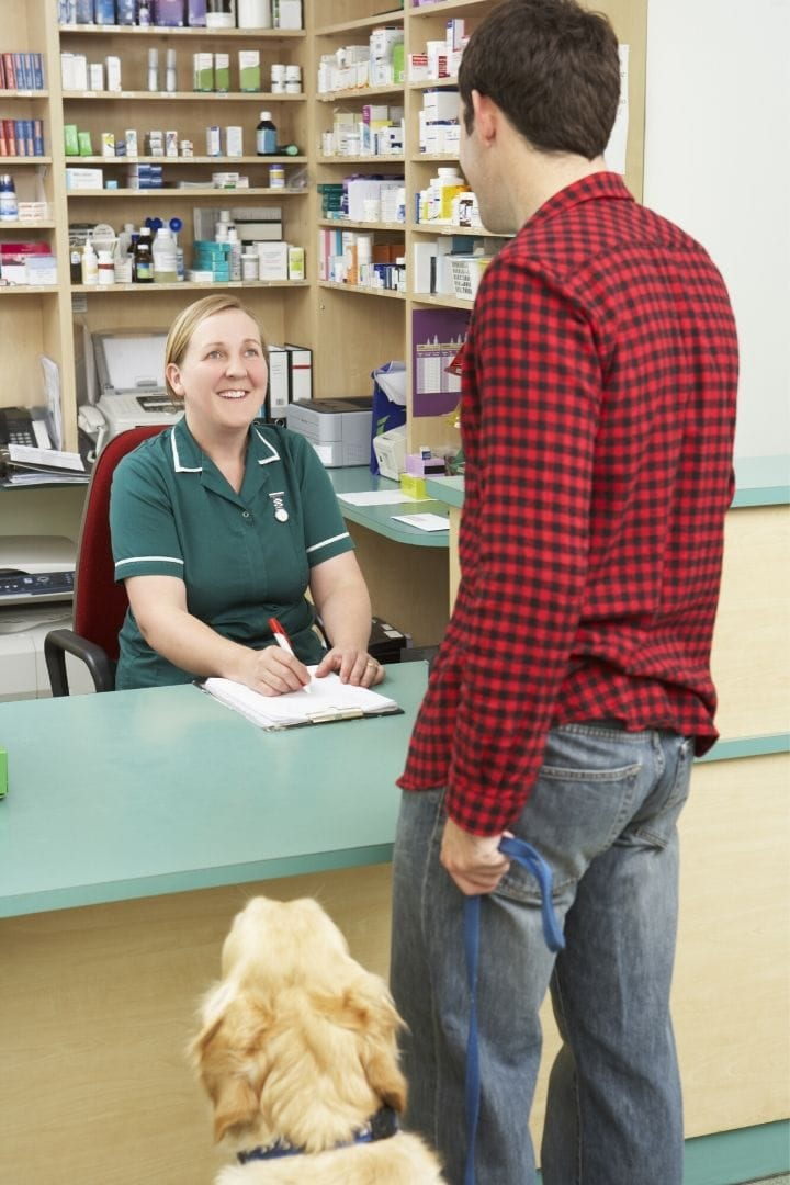 veterinary receptionist I Love Veterinary