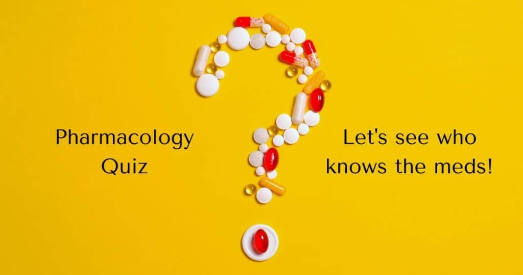 Pharmacology Quiz Let's see who knows the meds! by I Love Veterinary