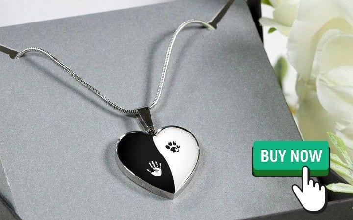 veterinary heart necklace by I Love Veterinary