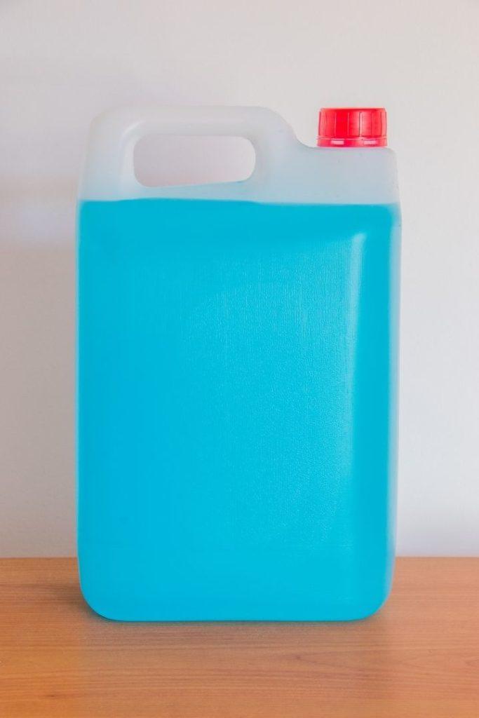 Bottle of blue antifreeze, Antifreeze Poisoning in Dogs - I Love Veterinary