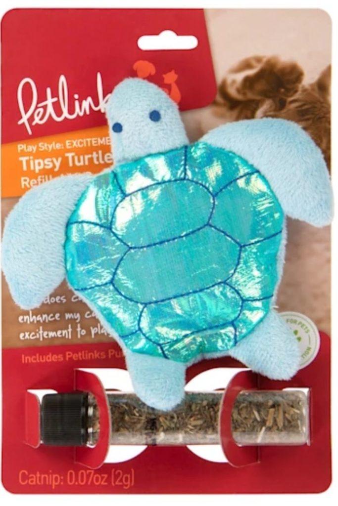 Petlinks Tipsy Turtle Cat Toy, Petlinks Tipsy Turtle Cat Toy - I Love Veterinary