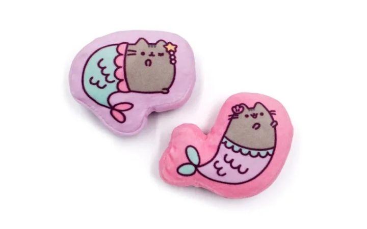 Pusheen Mermaid Crinkle Plush Cat Toy, Petco's Top Rated Pet Toys - I Love Veterinary