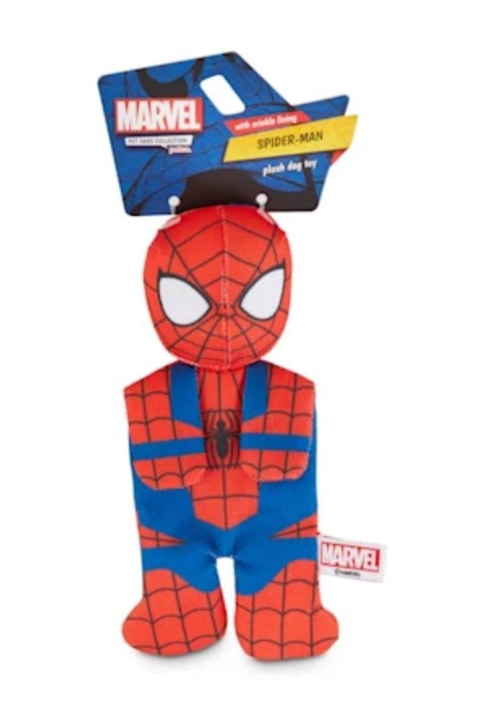 Spider-Man Flattie Dog Toy, Petco's Top Rated Pet Toys - I Love Veterinary