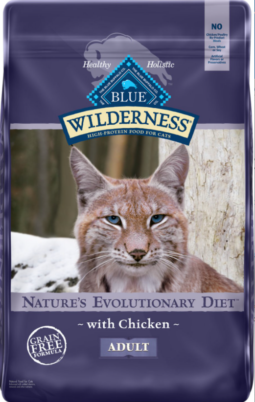 Blue Buffalo Wilderness Chicken Dry Cat Food