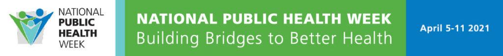 national public health week banner