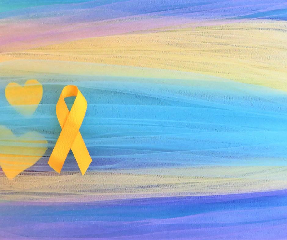 veterinarian suicide rate yellow awareness ribbon