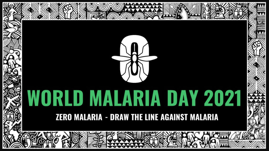 world malaria day 2021 official banner