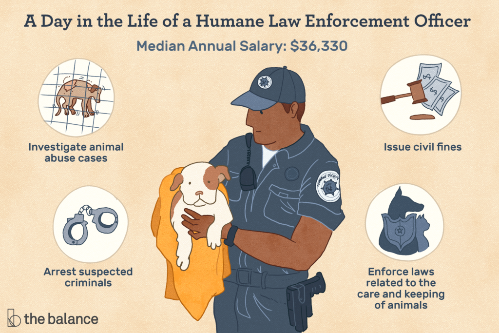 day in the life of a humane law enforcement officer banner
