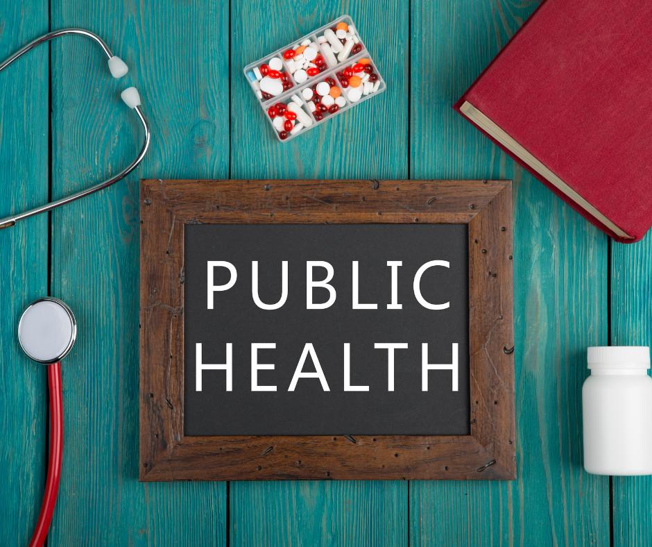 public health sign