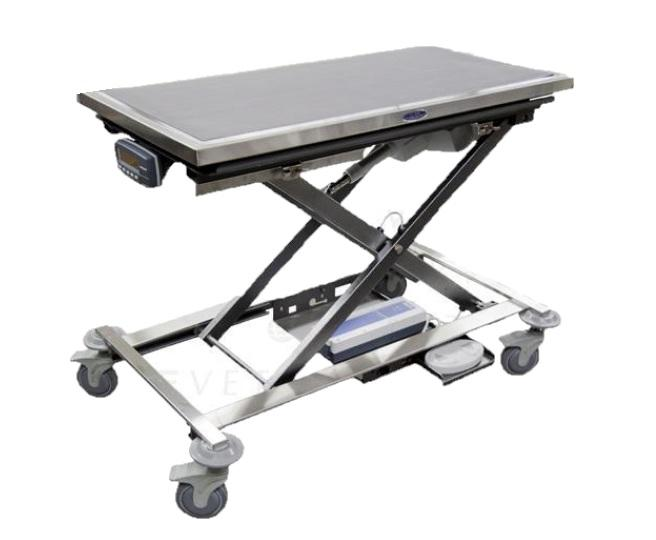 Dre Mobile Veterinary Animal Lift Table with Canine Scale