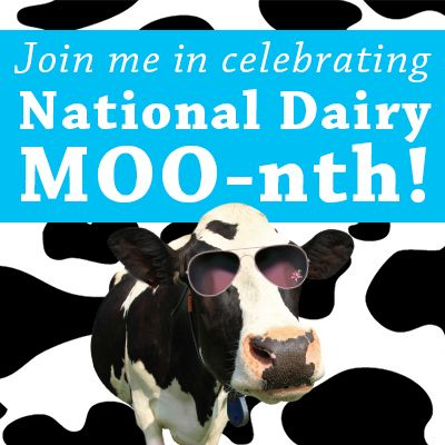 national dairy month banner
